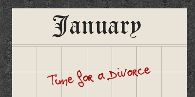 Is January Divorce Month